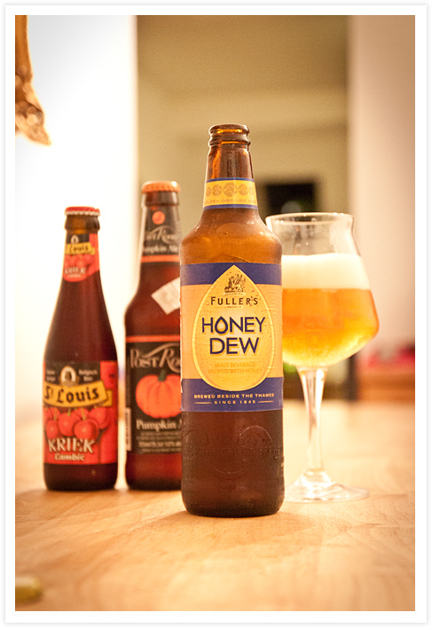 Ale Honey Dew in Flasche